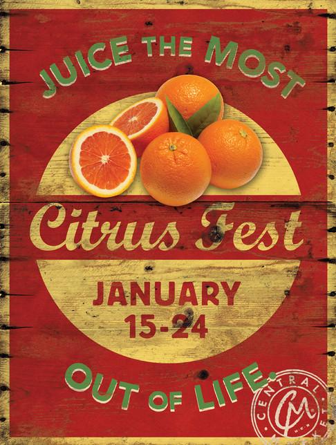 Citrus Fest Signage