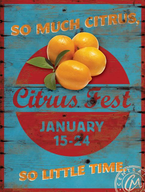 Citrus Fest Sign