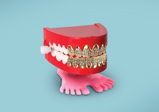 Chatter Teeth Detail