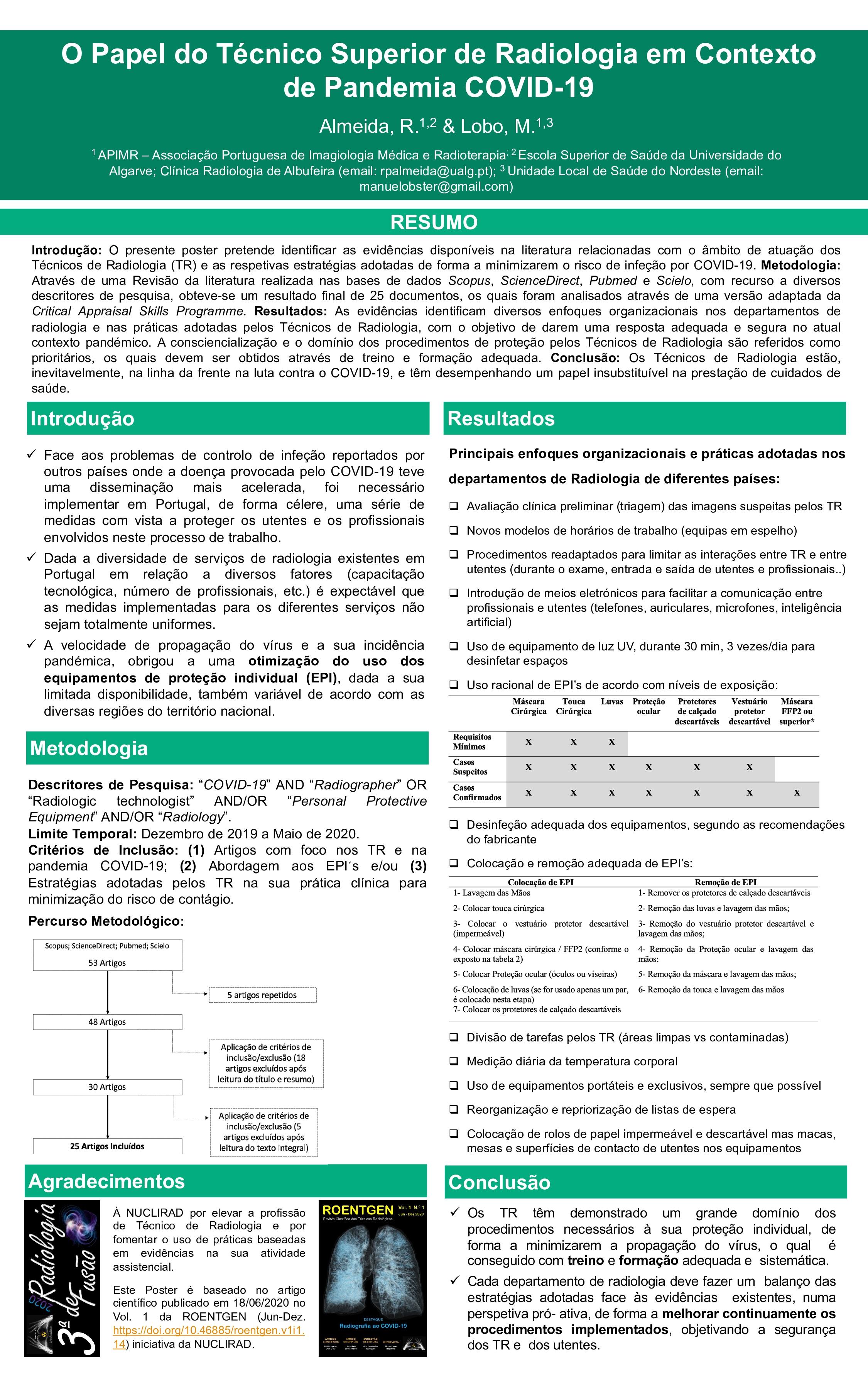2. O Papel do TSR no Contexto de Pandemia COVID-19