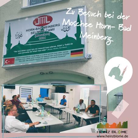 H.B. trifft Moschee-Gemeinde in Horn- Bad Meinberg, zusammen mit CDU-Vertretern