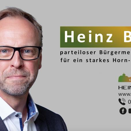 Warum man Heinz Blome am 27. September wählen sollte!