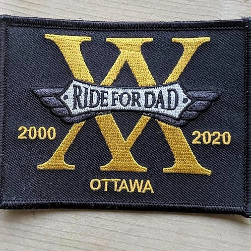 20 year anniversary patch