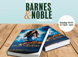 Protogenesis Book Signing Event at BARNES & NOBLE, Burbank, CA