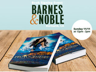 Protogenesis Book Signing Event at BARNES & NOBLE, Burbank, CA