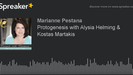 iHeart Radio - Moments with Marianne: Protogenesis with Alysia Helming & Kostas Martakis