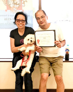 Congratulations Snow the #maltipoo! You'
