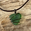 Thumbnail: Bright Green Seaglass Necklace