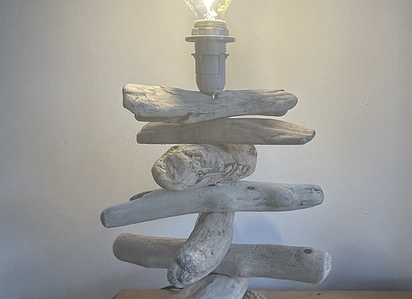 Driftwood Table Lamp - supplied without shade