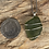 Thumbnail: Deep Green Seaglass Necklace