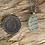 Thumbnail: Seafoam colour Seaglass Necklace