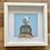 Thumbnail: Seagull on Crab Pot Pebble Artwork