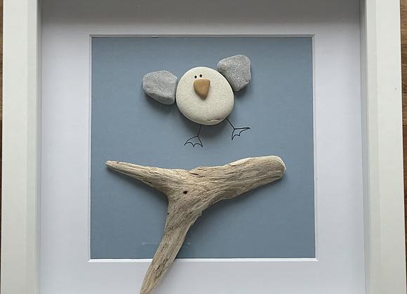 Happy Seagull Artwork