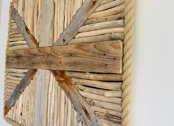 Driftwood Union Flag Artwork