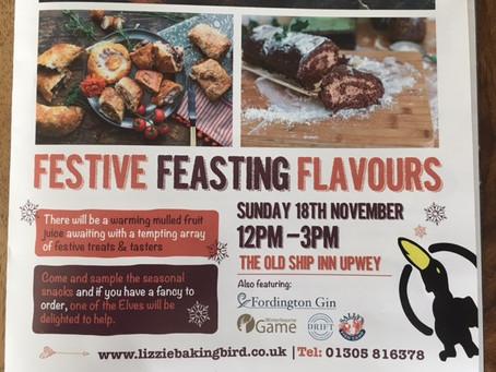 Festive Feasting event on Sunday 18th November