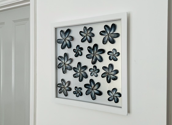 Mussel Shell Flowers Artwork