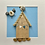 Thumbnail: Beach Hut Driftwood and Pebble Artwork