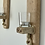 Thumbnail: Pair of Driftwood Wall Sconces with candles