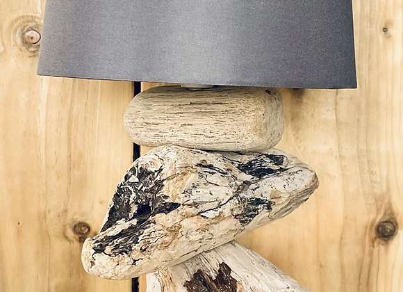 Driftwood Table Lamp with shade