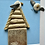 Thumbnail: Beach Hut Driftwood and Pebble Artwork