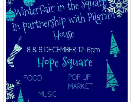 New this year to Weymouths' old harbour area the Winter Fair in the Square, Brewers Quay.