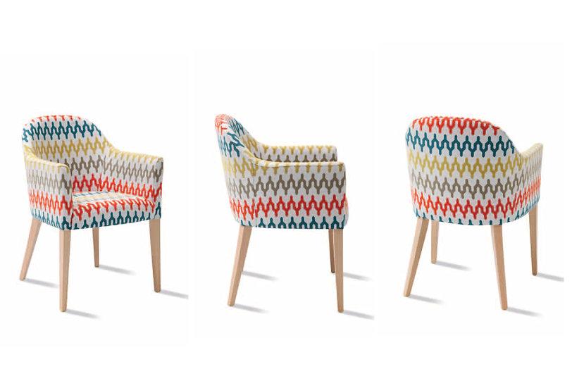Sillón tapizado 303 tela antimanchas Aquaclean a elegir
