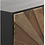 Thumbnail: Mueble de TV industrial 10223 de 140cm