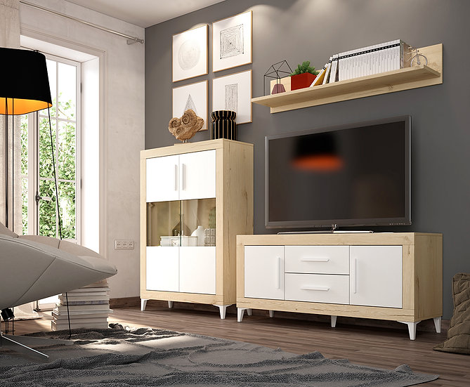 Mueble de salón Oferta mod. AZ 341