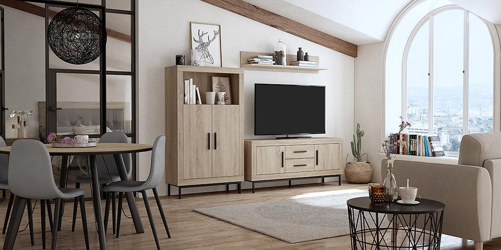 Mueble de salón Oferta mod. AZ 315