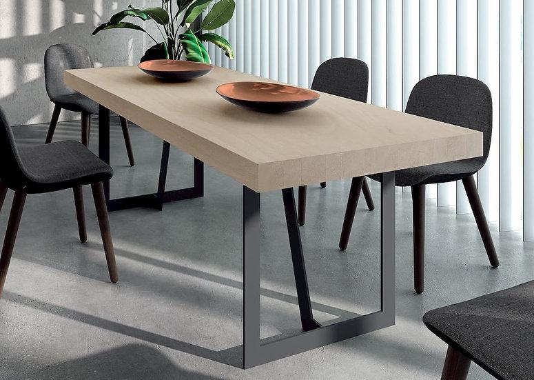 Mesa de comedor industrial oferta mod. Regal 01