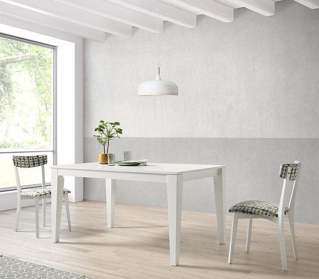 Mesa de comedor rectangular 402 fija o extensible