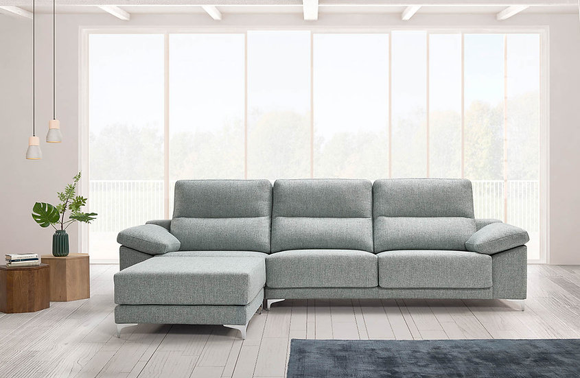Sofá Oasis con pouff chaise