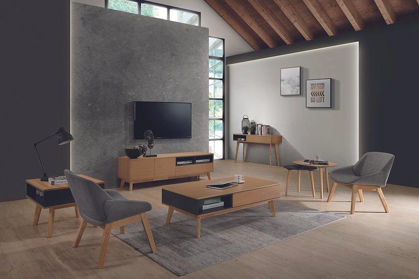 Mueble TV Oslo de 170cm en roble natural