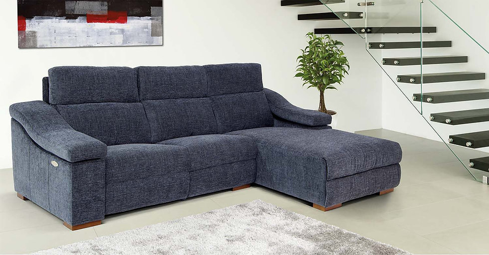 Chaise longue relax Colt con motor