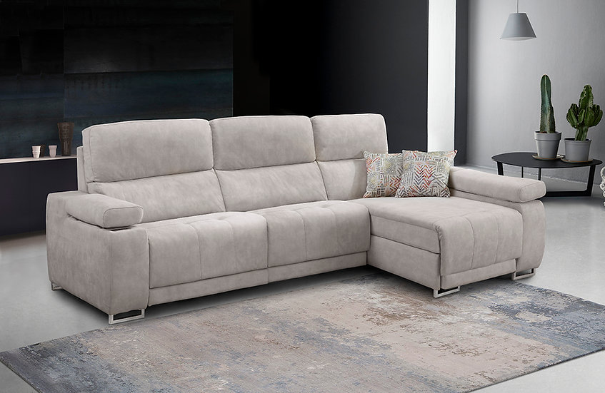 Chaise longue Elvis con relax motor