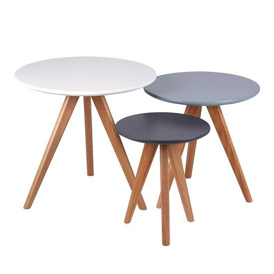 Set mesas centro oferta redondas Tiziano