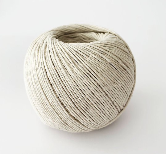 Compostable Cotton Twine pack of 3