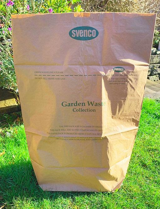 75 Litre Biodegradable Garden Sacks - 5 Pack
