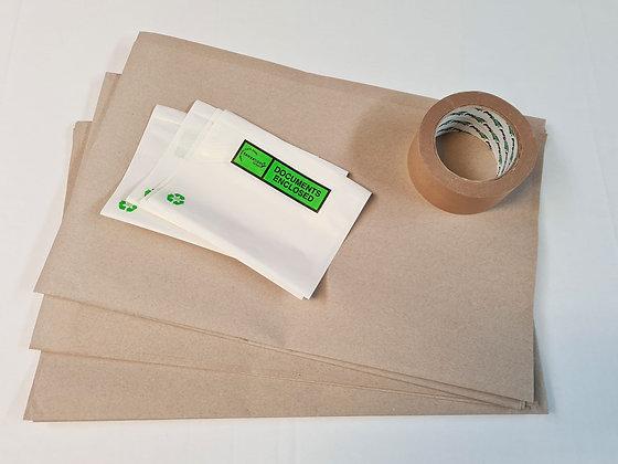 Kraft Paper Eco Parcel Kit