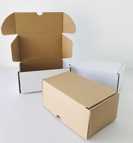 Small Single Wall Die Cut Boxes – Various Colours