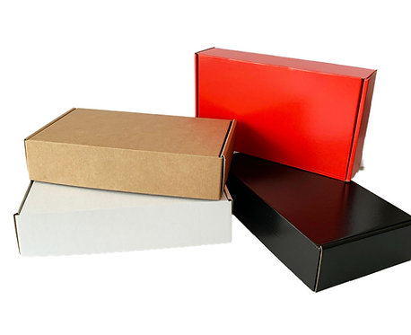 Fast Assembly Postal Boxes - Various Colours