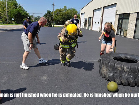 Train to be fit like a Firefighter!
