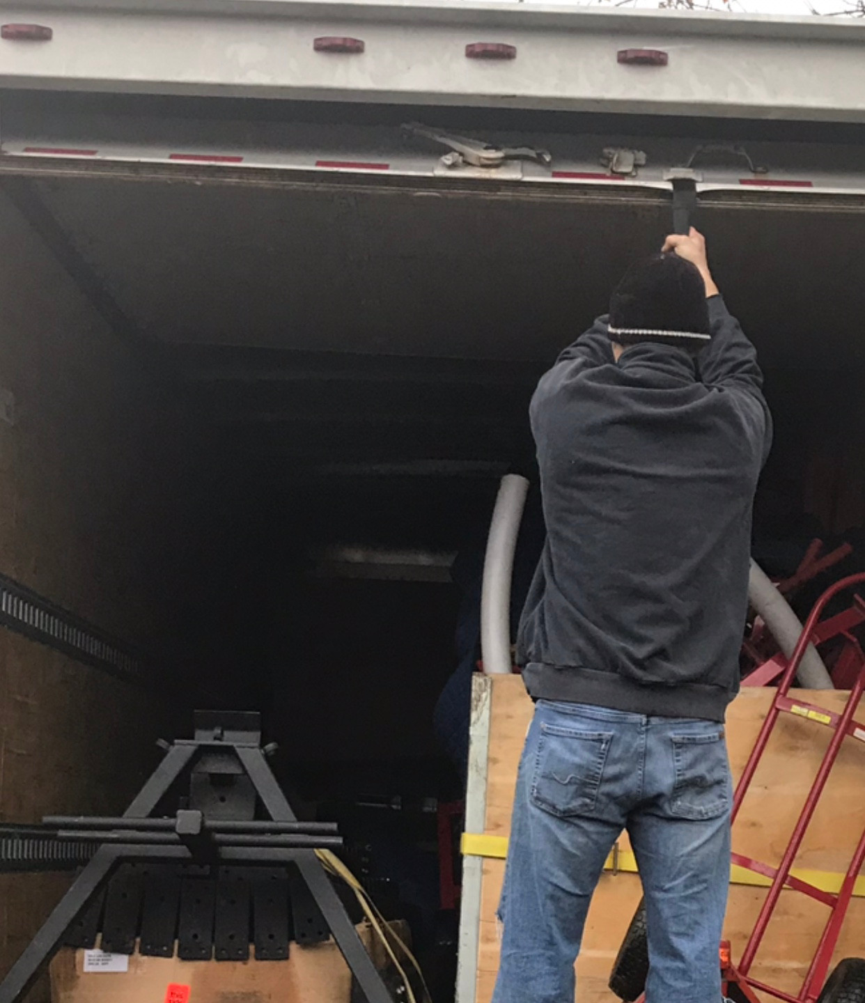 Packing the truck