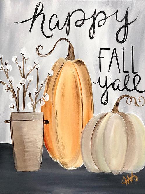 75- Happy Fall Y'all