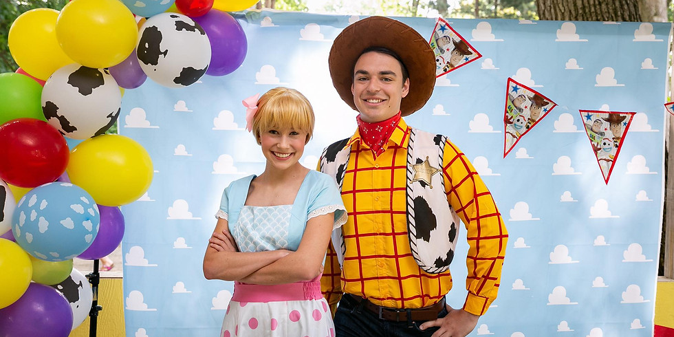 Sept 18- Toy Story Paint and Meet with Laurel's Princess Parties
