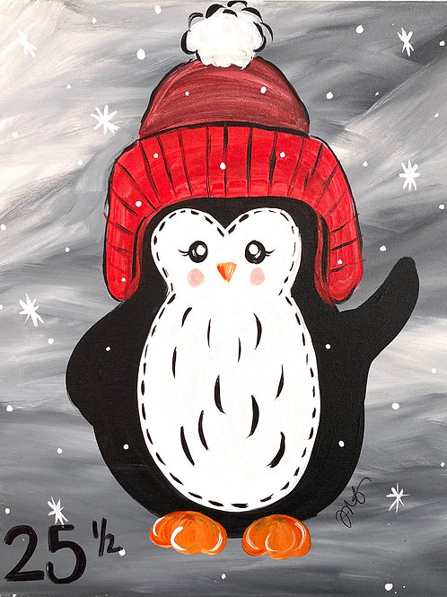 #94- Winter Penguin