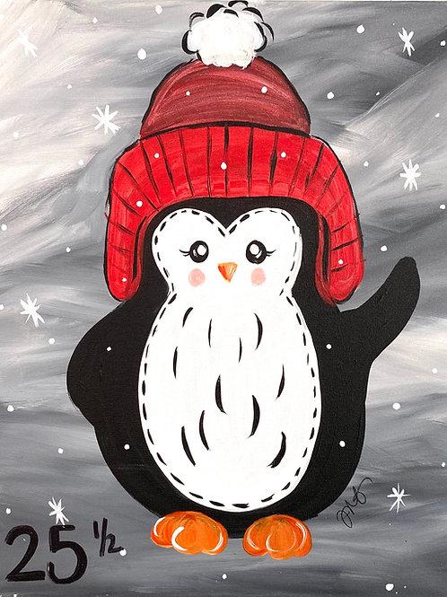 #94- Winter Penguin
