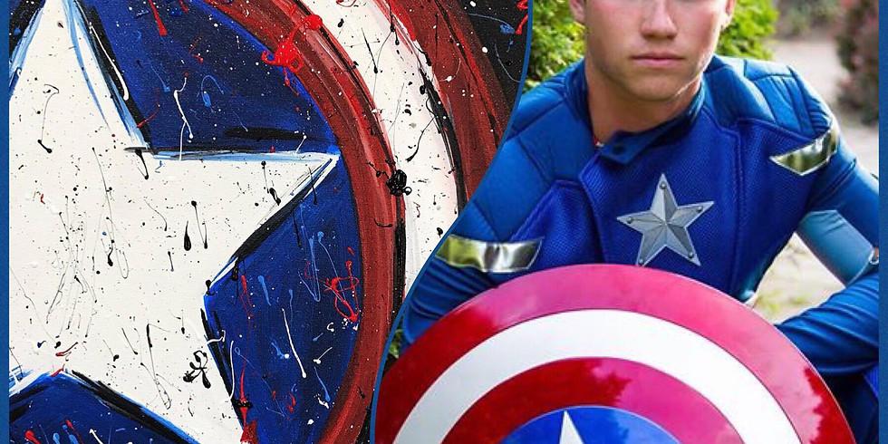 July 13-  Captain A. Paint & Meet