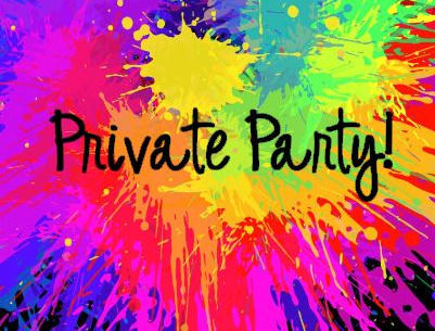 Private Party  Deposit