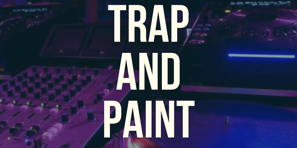 July 21- Trap and Paint at the Peacock Cafe